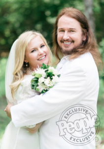 Roy Orbison Jr and Asa Orbison Wedding featured in Martha Stewart Weddings