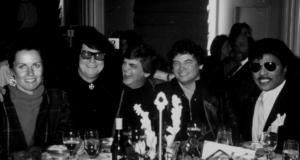 Barbara Orbison, Roy Orbison, Phil Everly & Don Everly of The The